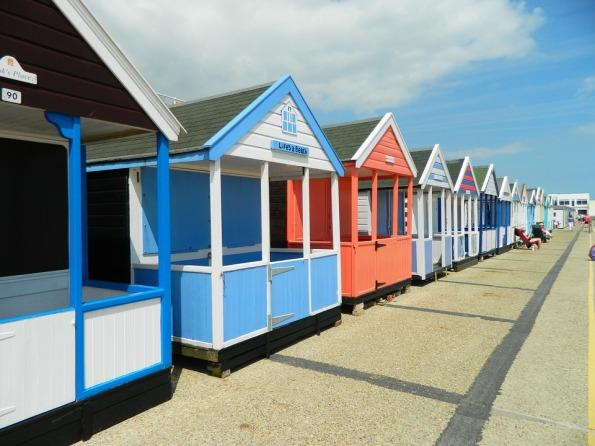 Beach England Southwold Suffolk Beach Hut Bathing