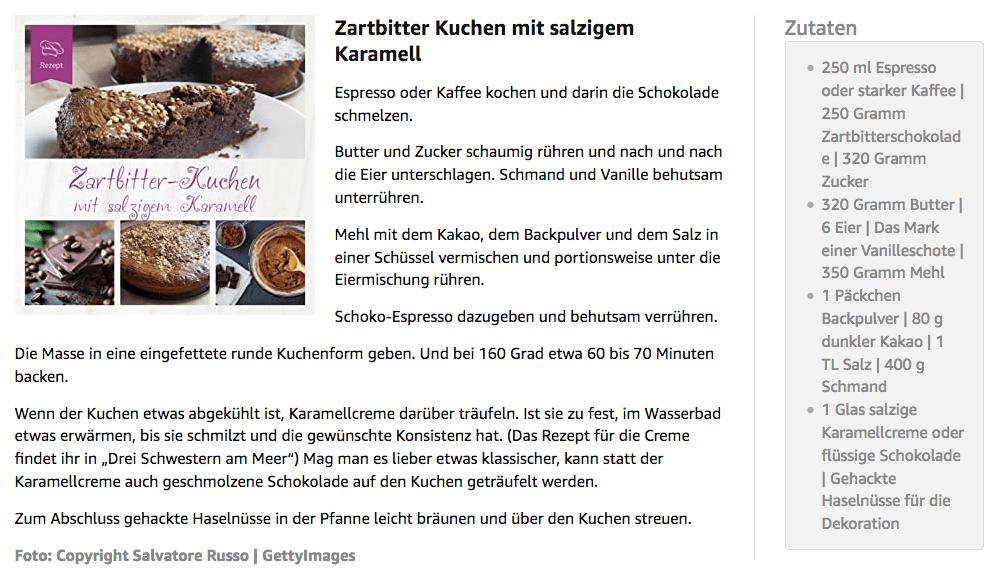 Kuchenrezept Anne Barns - Drei Schwestern am Meer