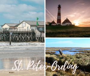 Ansichten St Peter Ording