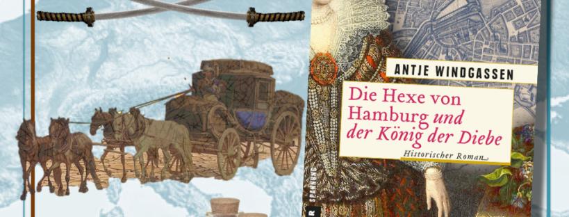 Die Hexe von Hamburg und der König der Diebe - Cover