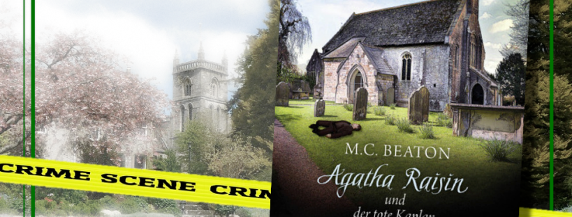 Agatha Raisin und der tote Kaplan - Cover
