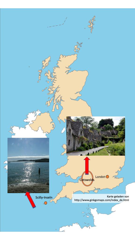 Landkarte England