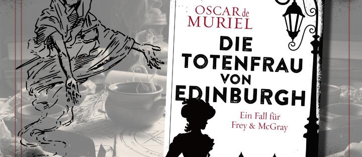 Die Totenfrau von Edinburgh - Cover