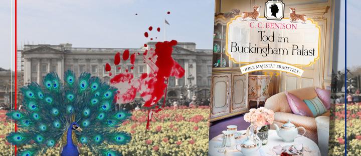 Tod im Buckingham Palace - Cover